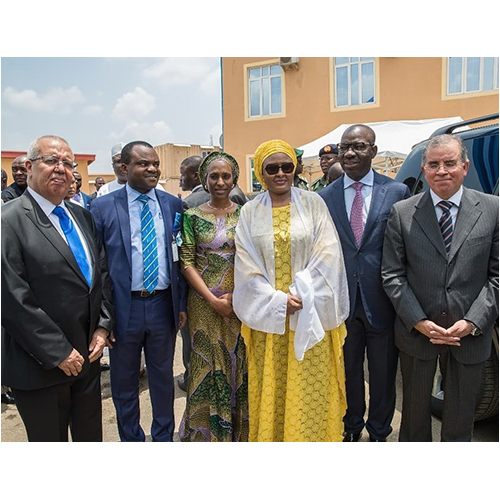 SFC and Africinvest participate in the opening ceremony of Cedarcrest in Abuja Nigeria