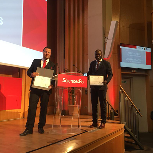 Our colleagues Mohamed & Cheikh Obtained  the Lead Campus certification