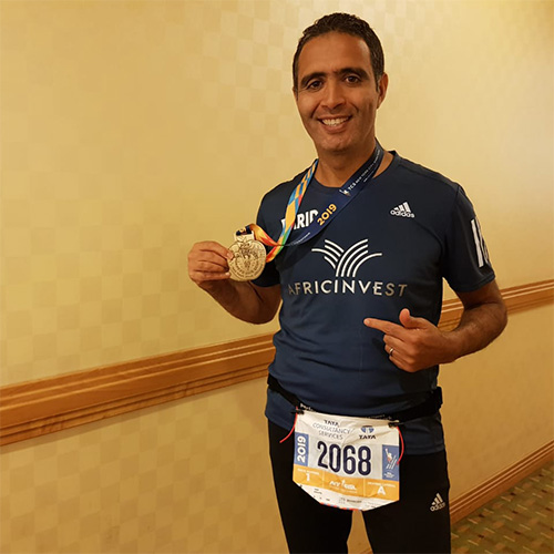 Participation of our colleague Farid Benlafdil in New York City Marathon 2019